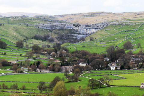 Malham from windy pike